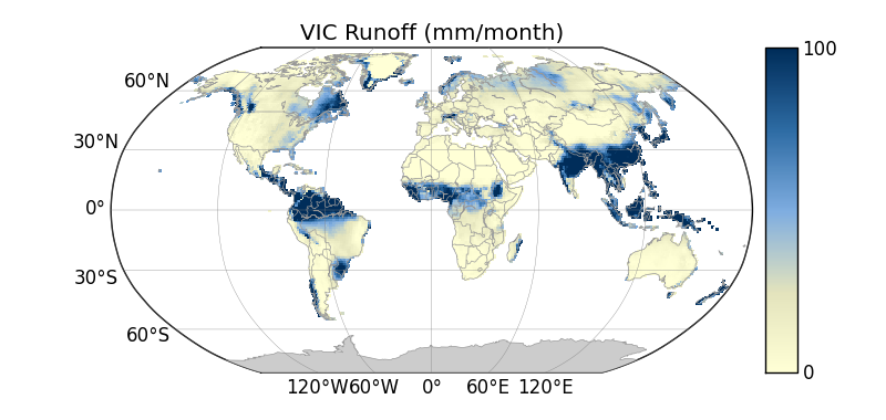 Plotting a map of NetCDF data with Matplotlib/Basemap