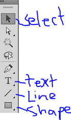 Illustrator left toolbar